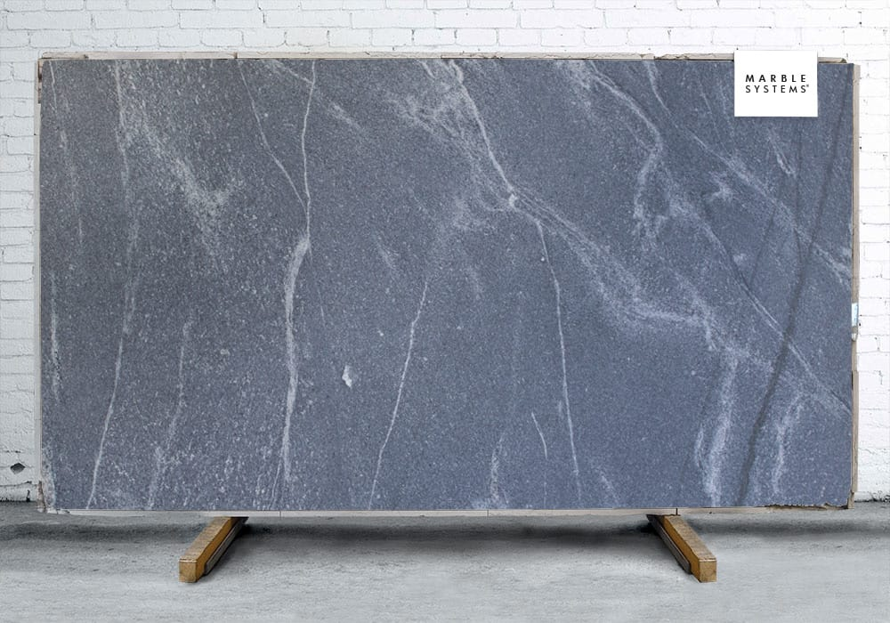 RIVIERA GRAY HONED GRANITE SLAB SL90525-92291-1-12