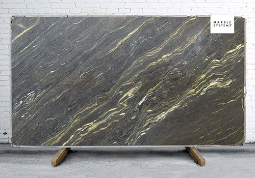 Arcadia Polished Marble Slab Random 1 1/4