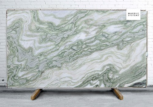 Onyx Jade Green Polished Onyx Slab Random 3/4