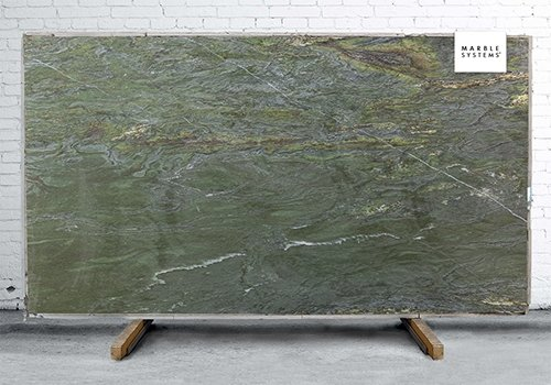 River Green Leather Quartzite Slab Random 1 1/4