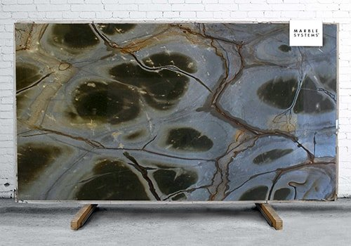 Illusion Polished Granite Slab Random 1 1/4
