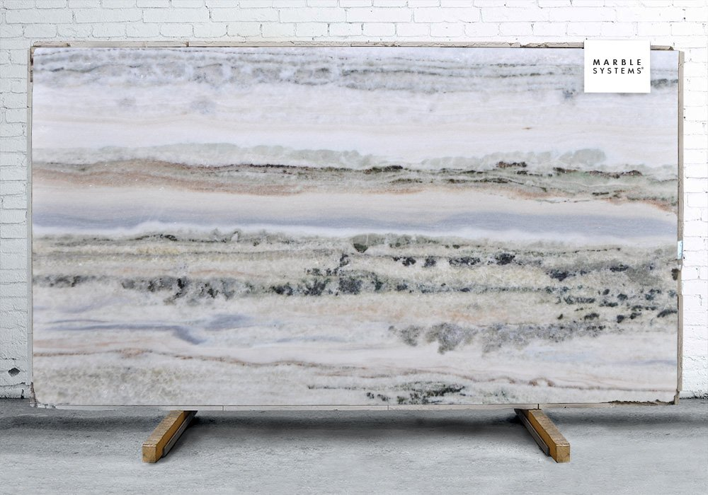 Medusa Leather Soft Quartzite Slab Random 1 1/4