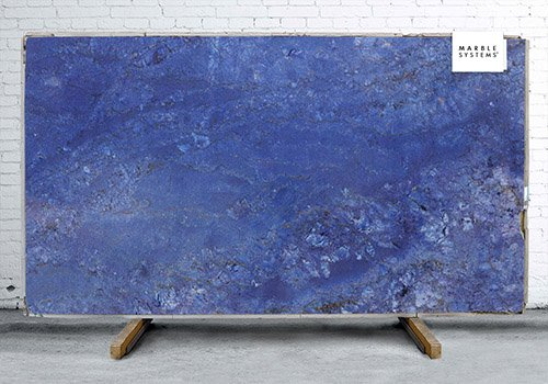Azul Fiore Polished Granite Slab Random 1 1/4