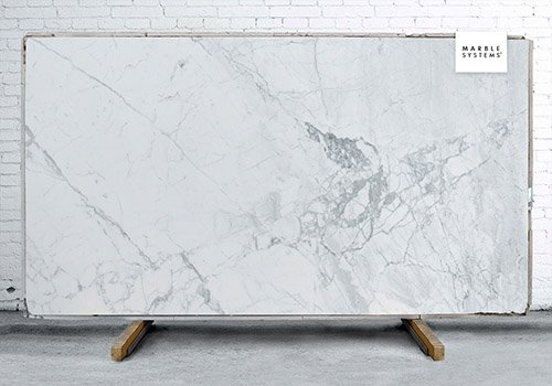 Statuary Extra Polished Marble Slab Random 3/4