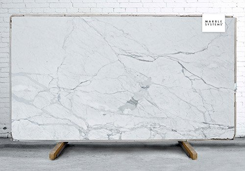 Statuarietto Polished Marble Slab Random 3/4