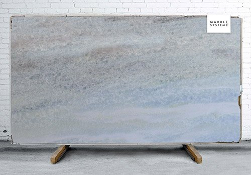 Blue Diamond Polished Soft Quartzite Slab Random 1 1/4