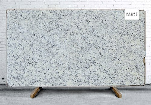 Dallas White Polished Granite Slab Random 1 1/4