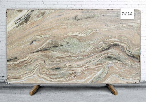 Fantasy Green Polished Soft Quartzite Slab Random 1 1/4