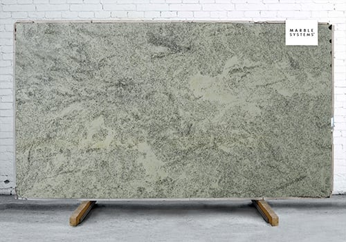 Lucky White Polished Granite Slab Random 1 1/4