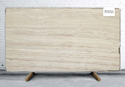 Striato Elegante Brushed Marble Slab Random 3/4