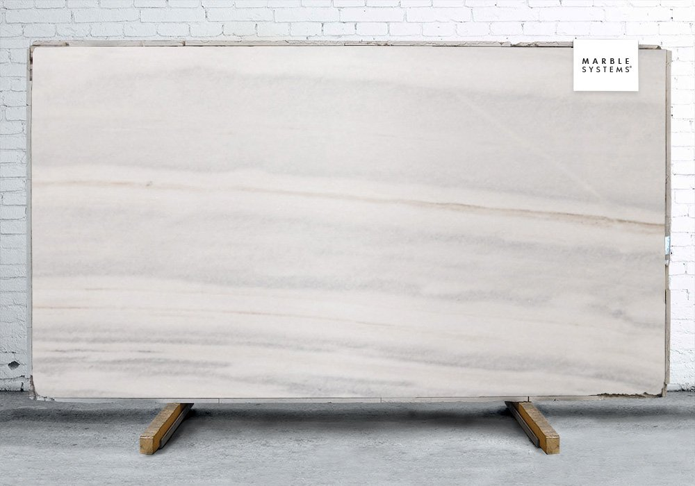 Zebrino Bluette Polished Marble Slab Random 1 1/4