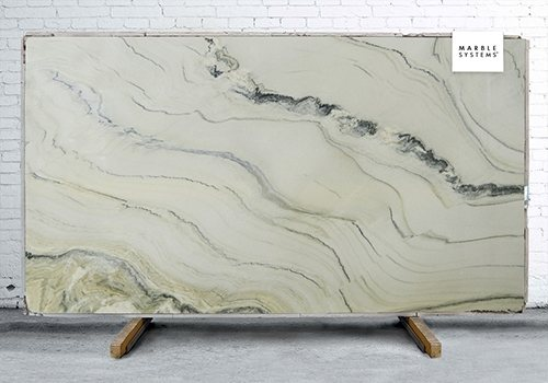Macaubas Fantasy Polished Quartzite Slab Random 1 1/4