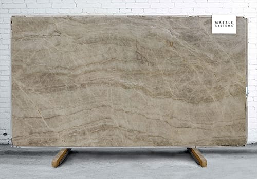 Taj Mahal Leather Quartzite Slab Random 1 1/4