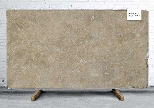 Noce Travertine Polished Travertine Slab Random 1 1/4