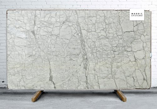 Calcatta Retro Polished Marble Slab Random 1 1/4