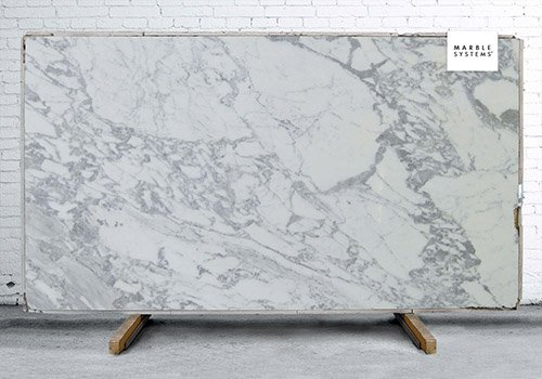 Calacatta Splendor Polished Marble Slab Random 3/4