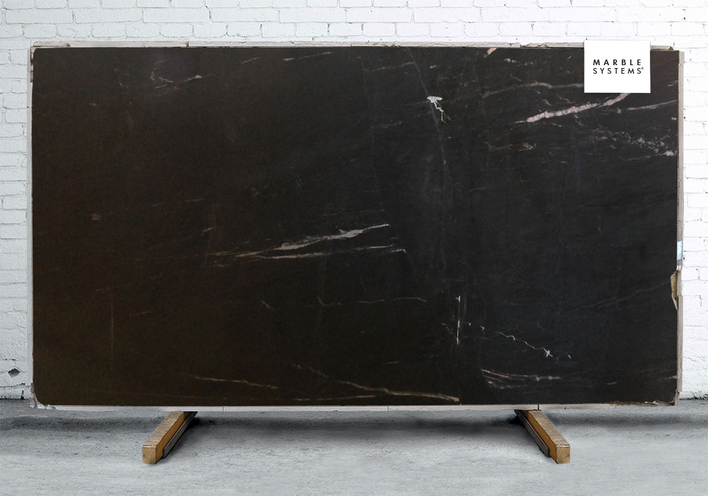 BLACK SOAPSTONE POLISHED SOAPSTONE# SLAB SL90803-65034