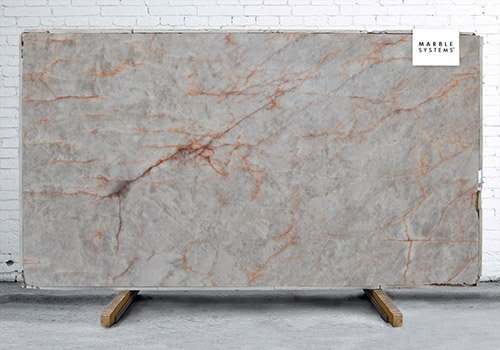 Cristallo Polished Quartzite Slab Random 1 1/4