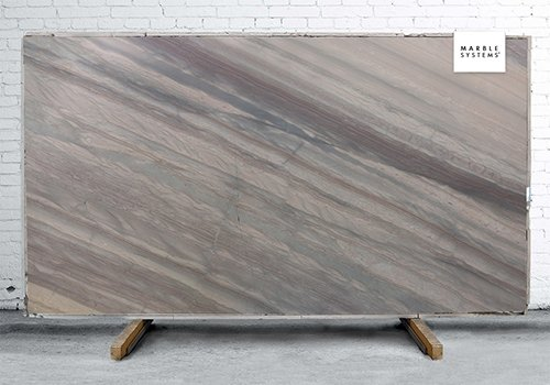 Elegant Brown Leather Quartzite Slab Random 1 1/4