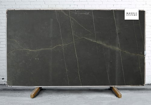 Ibiza Black Honed Limestone Slab Random 1 1/4