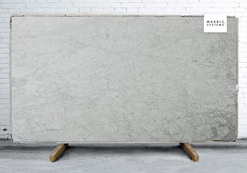 Statuary Honed Marble Slab Random 1 1/4