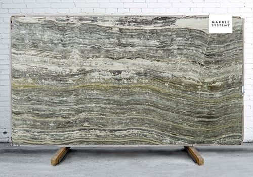 Onyx Grigio Vein Cut Polished Onyx Slab Random 3/4