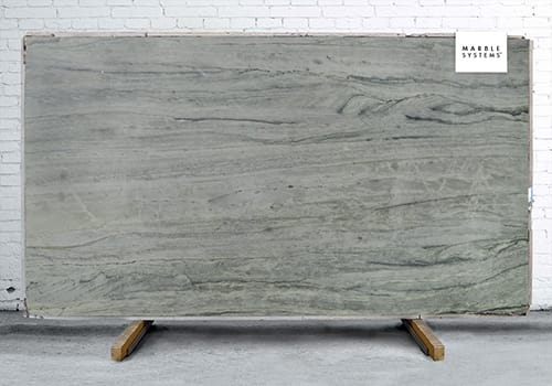 London Grey Polished Quartzite Slab Random 1 1/4