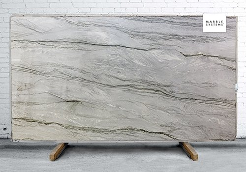 Smoky Polished Quartzite Slab Random 1 1/4