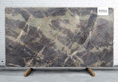 Ocean Waves Polished Quartzite Slab Random 1 1/4