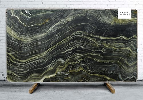 Green Fire Leather Quartzite Slab Random 1 1/4