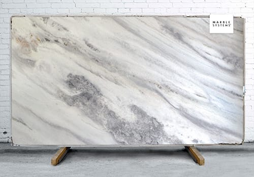 Montpellier Leather Marble Slab Random 1 1/4