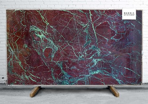 Moulin Rouge Polished Quartzite Slab Random 1 1/4