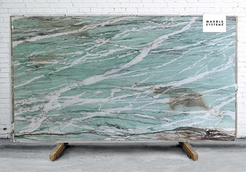 Tiffany Crystal Polished Quartzite Slab Random 1 1/4