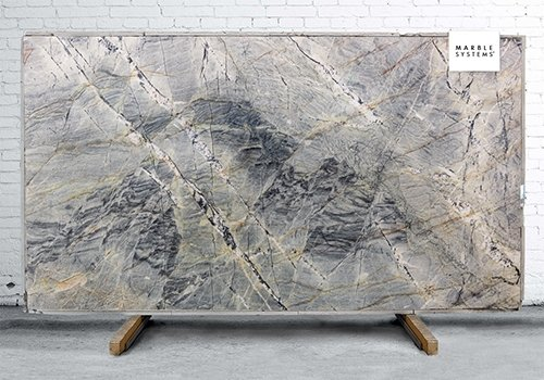 Blue Sea Polished Quartzite Slab Random 1 1/4