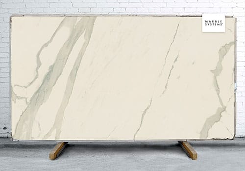 Calacatta Polished Porcelain Slab 47 1/4x94 1/2