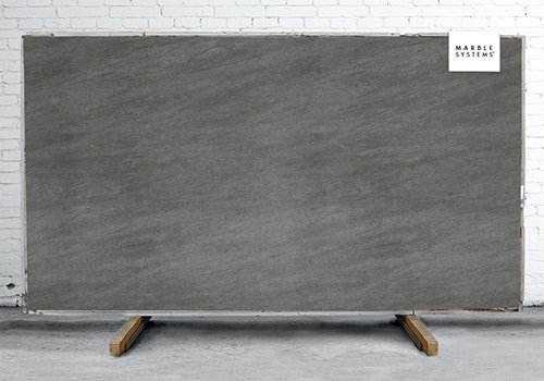 Basalt Grey Satin Sintered Stone Slab 125x63