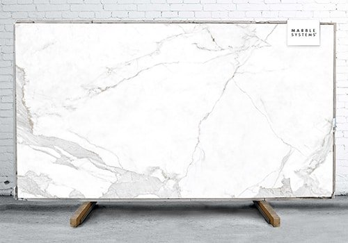 Estatuario E01 Polished Sintered Stone Slab 125x63