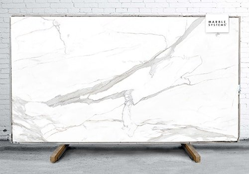 Estatuario E05 Polished Sintered Stone Slab 125x63