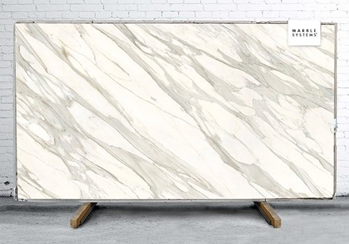 Calacatta Gold Cg01 Polished Sintered Stone Slab 125x63