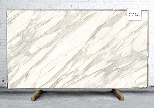 Calacatta Gold Cg01r Polished Sintered Stone Slab 125x63