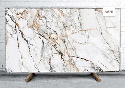Calacatta Luxe Cl01 Ultra Soft Sintered Stone Slab 125x63