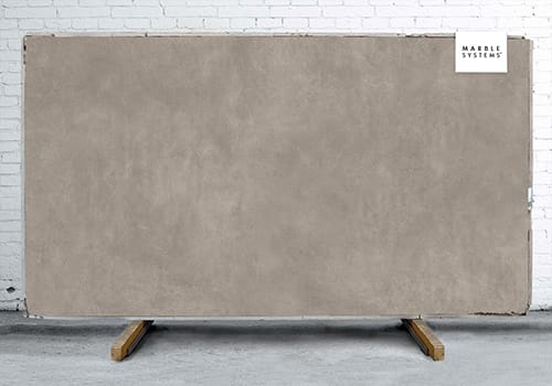 Concrete Taupe Natural Porcelain Slab 64x128