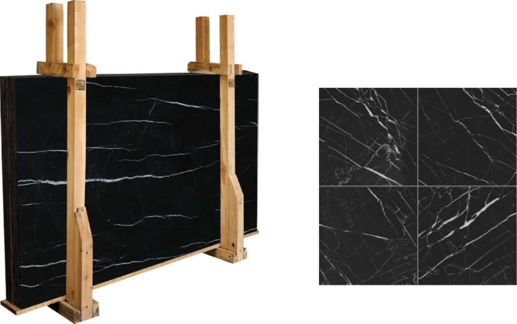 Black slabs from Marble Systems for 2014 Kitchen Trends