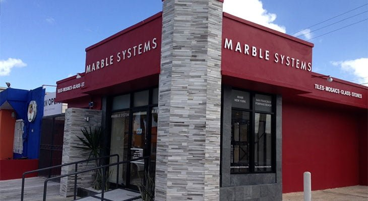 Marble Systems Puerto Rico Tile Showroom