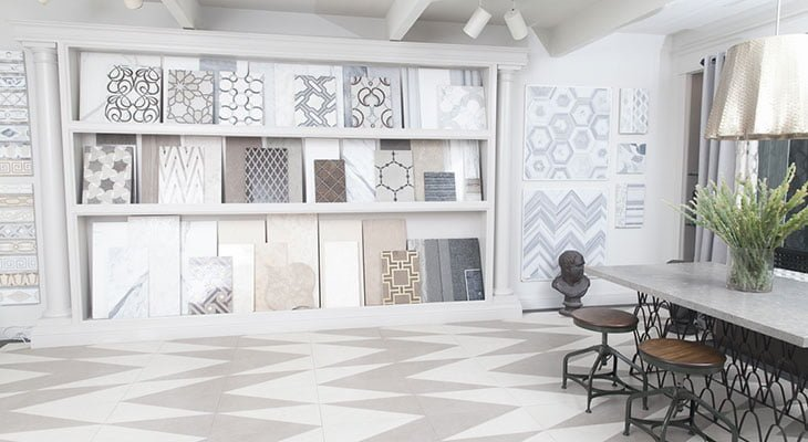 Los Angeles Marble Systems Showroom