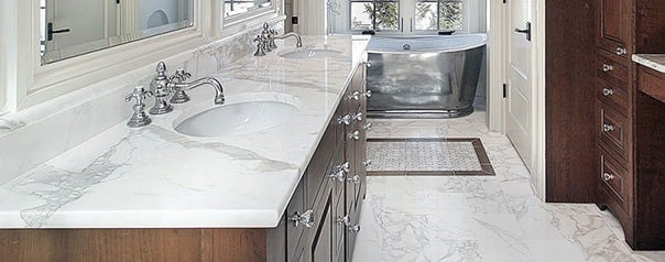 Diana Royal Honed Marble Tiles 12x12