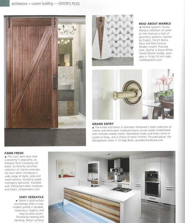 HomeDesign Magazine  Studio Mosaic