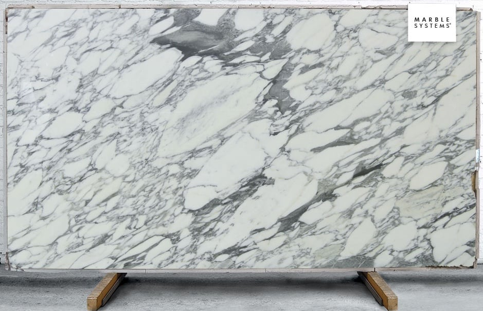 What is marble veining?