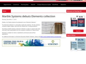 FloorCoveringWeekly MarbleSystems ElementsCollection