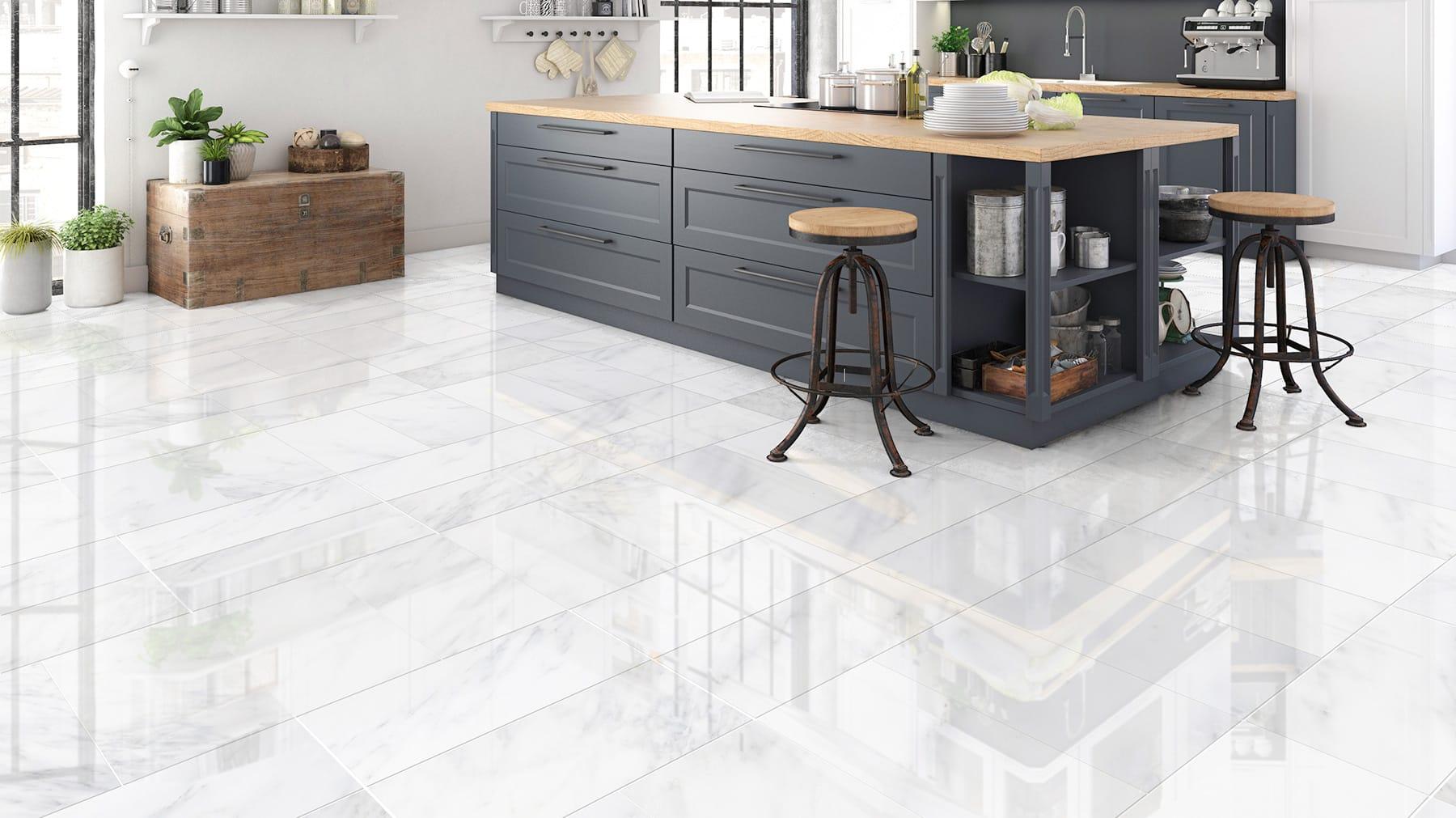 Calacatta Marble Tiles How To Achieve A Calm Bathroom With Calacatta
